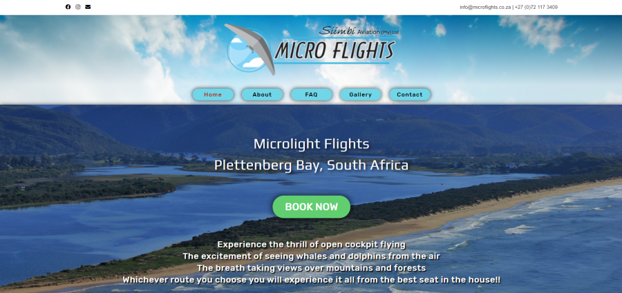 Micro Flights Desktop