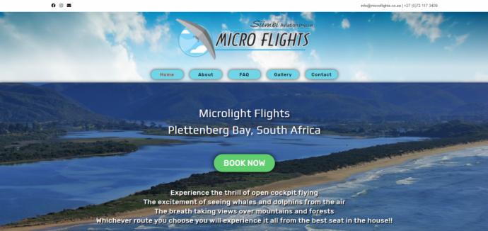 Micro Flights Desktop
